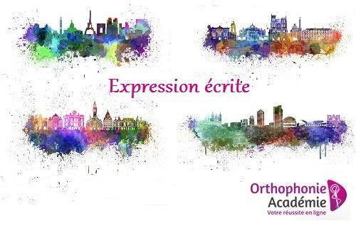 Expression écrite concours orthophonie : résumé, dissertation, synthèse de documents
