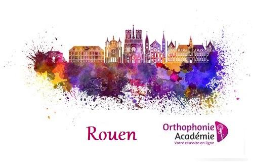 Préparation au concours orthophonie de ROuen concours blanc annales et exercices typiques de cette ville