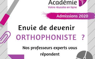 Orthophonie Académie s'adapte à la réforme !