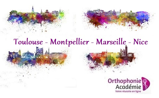 reussir concours orthophoniste toulouse montpellier marseille nice